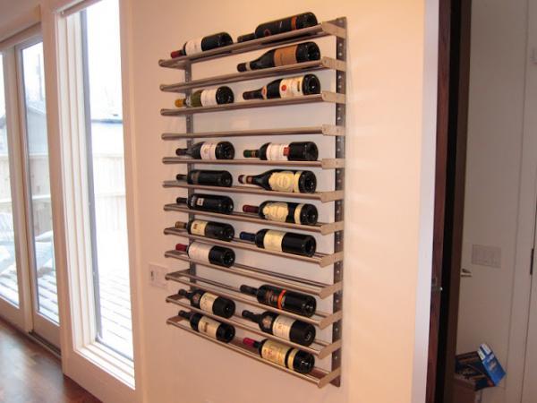 Ikea BROGRUND Kitchen Wine Rack Hack