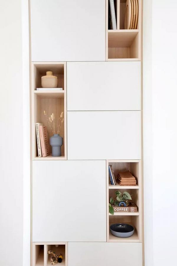Ikea Bespoke Built In Storage Hack