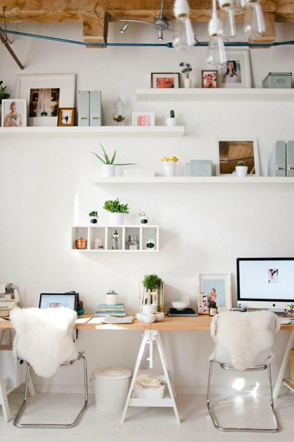 Ikea Double Trestle Desk Hack