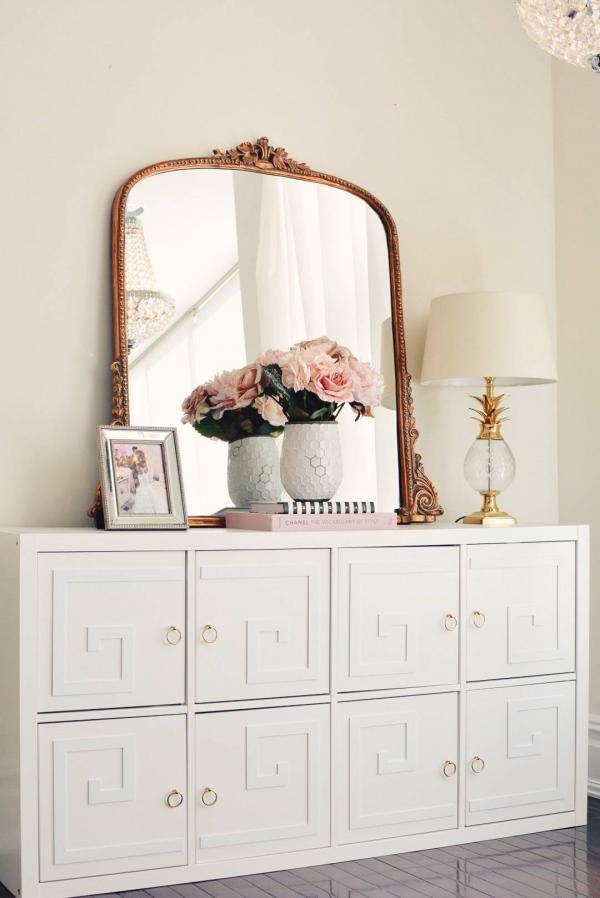 Ikea Kallax Ornate Dresser Hack