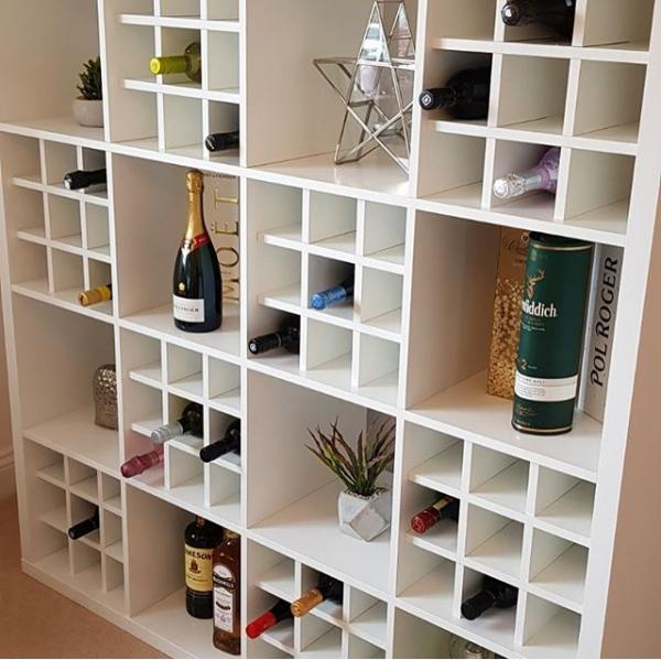 Ikea Kallax Wine Rack Hack