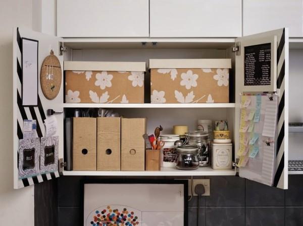 Ikea METOD Kitchen Command Center Hack