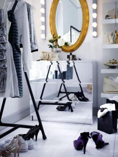 Ikea Malm Mirrored Dresser Hack