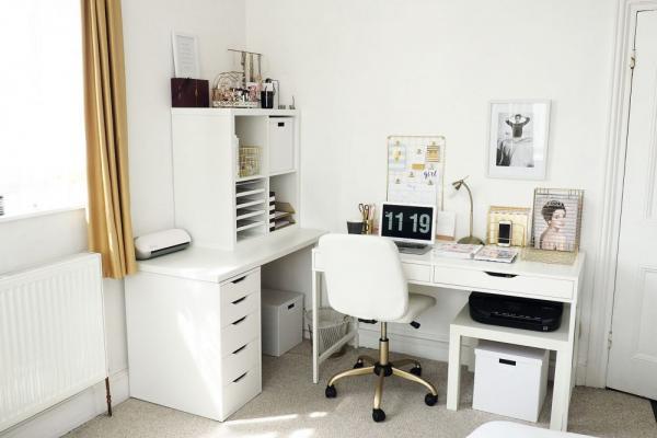 Ikea Mix Up Functional Desk Hack