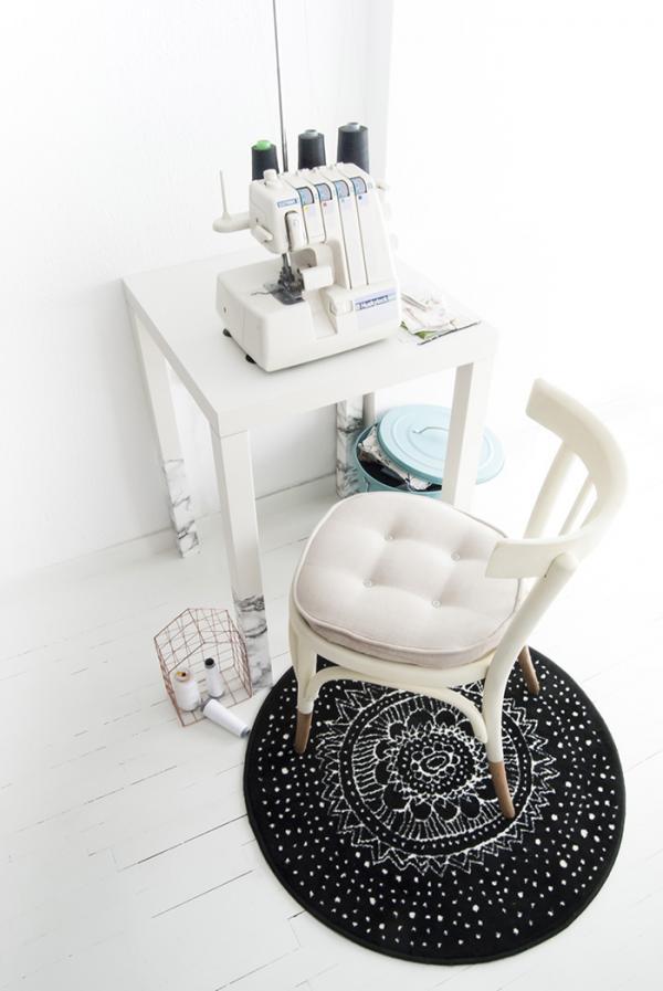 Ikea Small Work Desk Hack