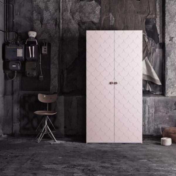 Ikea Pax Fish Scale Door Wardrobe Hack