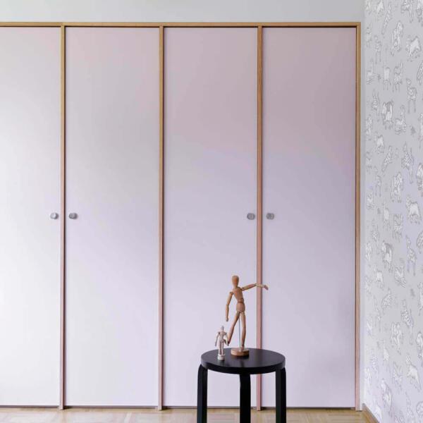 Ikea Pax Oak Surround Wardrobe Hack