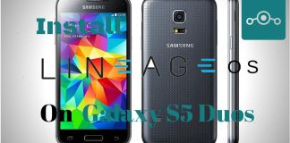 Lineage OS 14.1 On Samsung Galaxy S5 Duos china (kltechnduos)