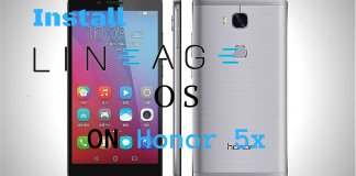 Lineage OS on Honor 5X