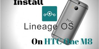 Lineage OS on HTC One M8