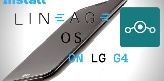 Install Lineage OS on LG G4