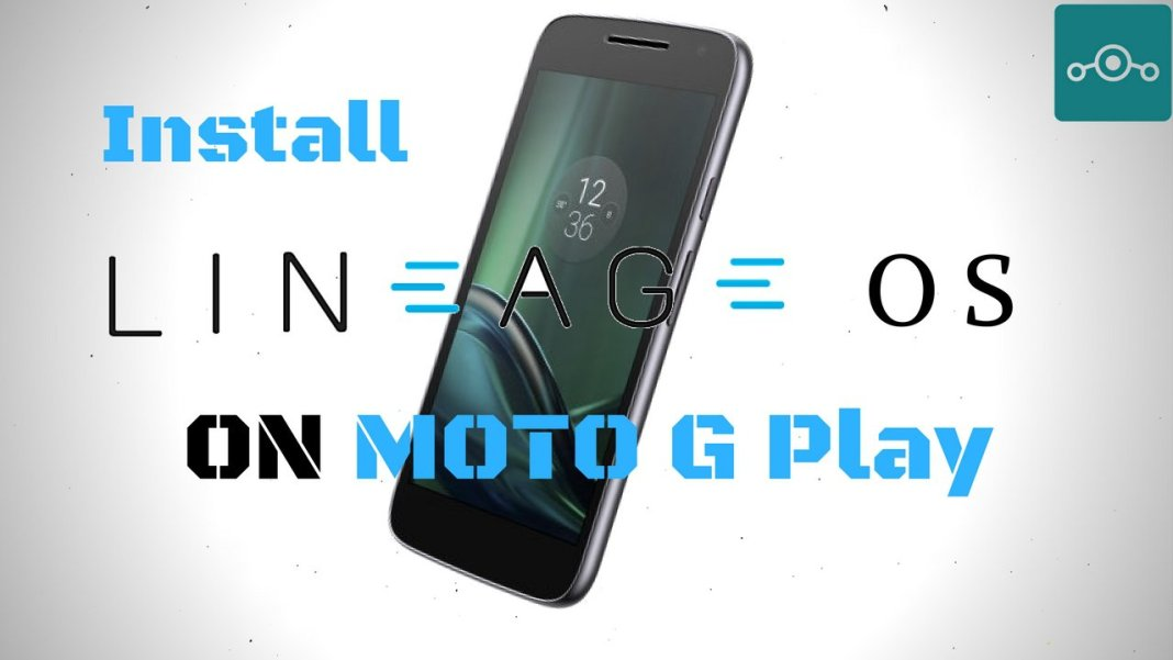 Install Lineage OS on Moto G Play