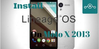 Lineage OS on Moto X 2013 (ghost)