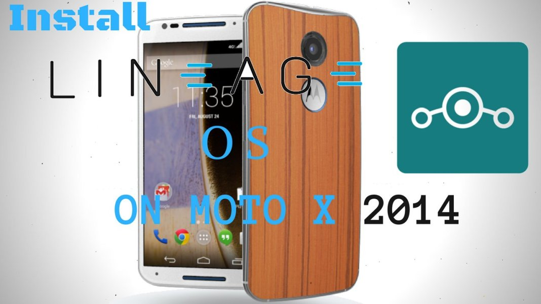 Lineage OS on Moto X 2014