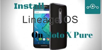 Install Lineage OS on Moto X Pure
