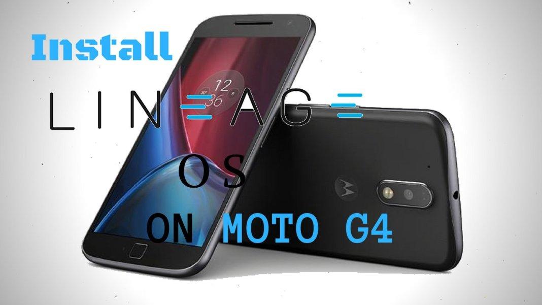 Install Lineage OS onMoto G4 G4 Plus (Athene)