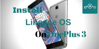 Lineage OS on OnePlus 3