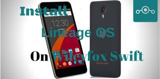Install Lineage OS on Wileyfox Swift