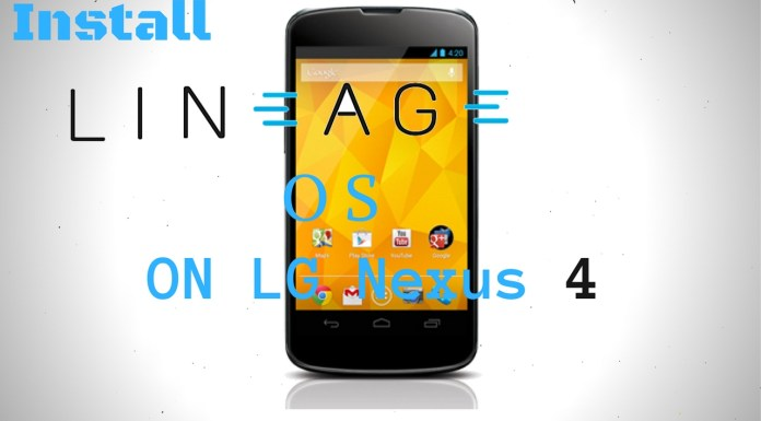 Lineage OS on LG Nexus 4