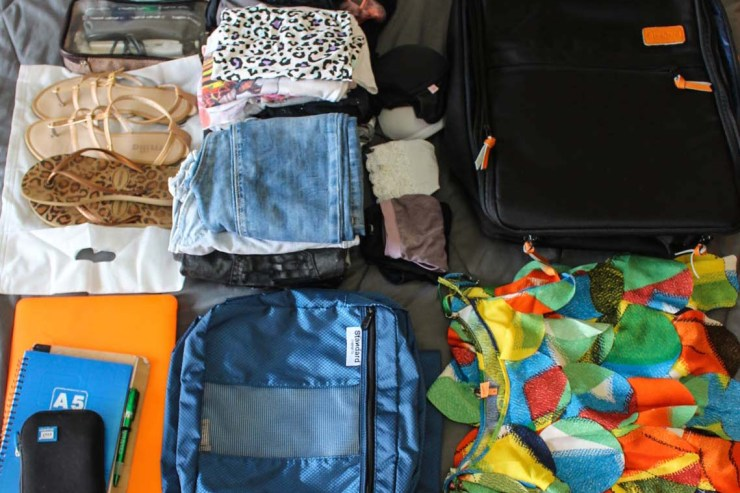 packing tips for teens