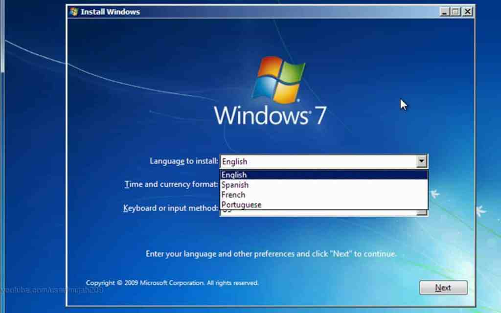 A step by step guide to guide you towards how to install windows7 By Hacksinfo