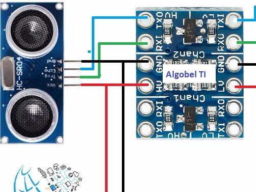 Connect Ultrasonic Sensor to NodeMcu development board  Hacksterio