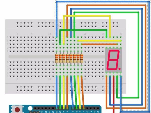 7 Segment LED Displays 101  How To Make One Work  Hacksterio