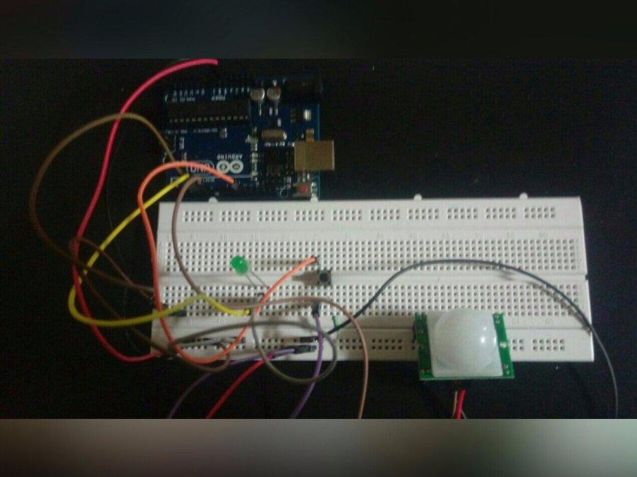 Security Alarm System Arduino