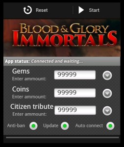 Blood and Glory Immortals android hack