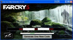 Far Cry 3 Cd key generator