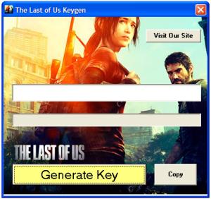 The Last of Us CD Key Generator