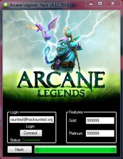 Arcane LegendsHack