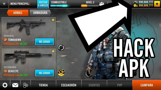 Frontline Commando 2 Hack can add unlimited gold, add unlimited ammo