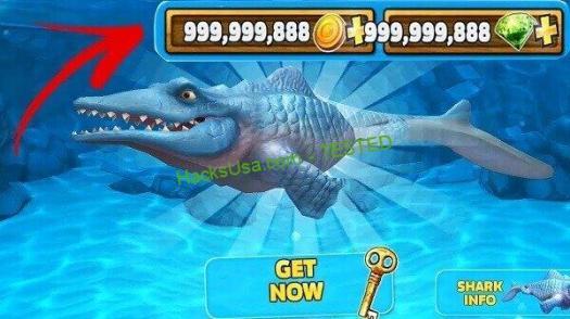 Imagini pentru Hungry Shark Evolution Hack