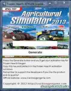 Agricultural Simulator 2013 Keygen