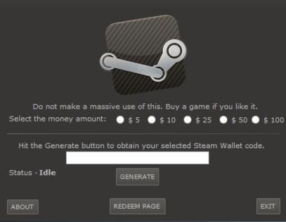 Steam Wallet Hack 2015
