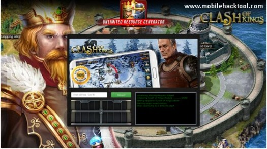 Clash of Kings Hack unlimited amount ofgold, silver, wood