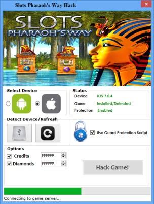 Pharaoh's Way Hack Diamonds Add Unlimited Credits
