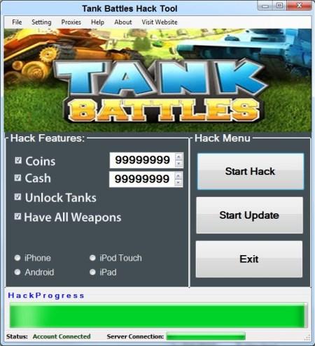 Tank Battles Hack Coins Add unlimited Cash