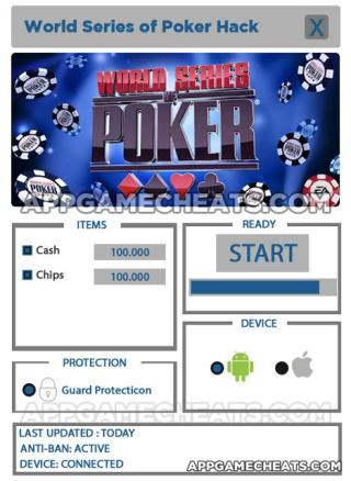 WSOP Hack For Cash and Chips