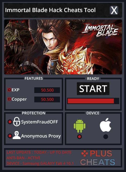 Immortal Blade hack