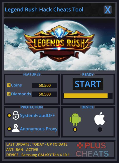 Legend Rush hack