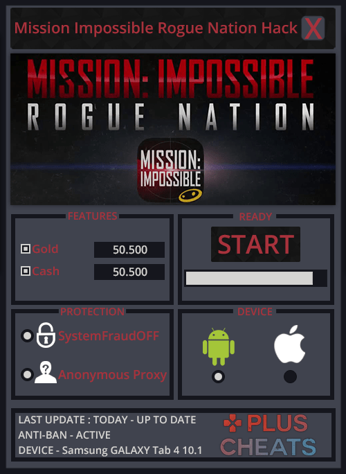 Mission Impossible Rogue Nation hack