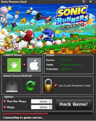 Sonic Runners Hack Tool