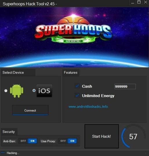 Superhoops Hack Tool