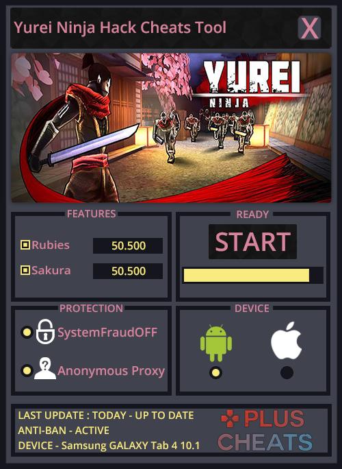 Yurei Ninja hack
