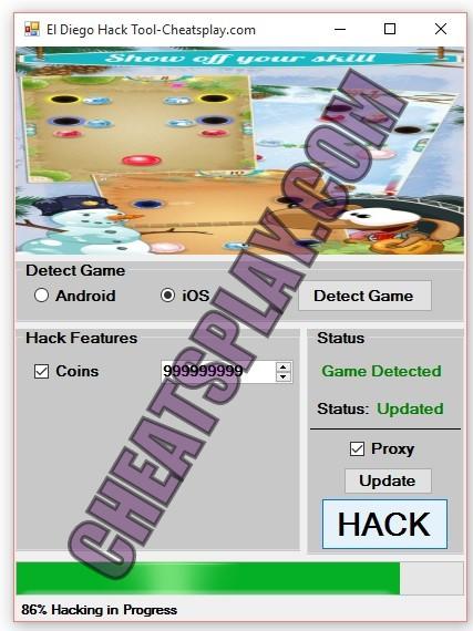 El Diego Hack Tool
