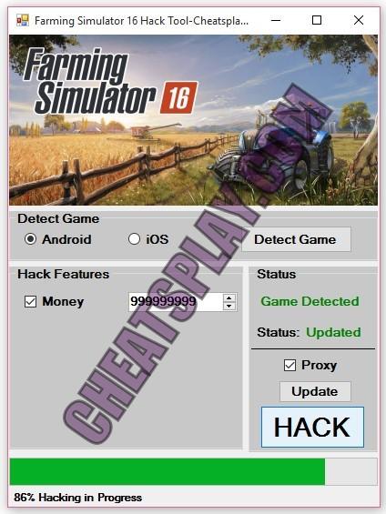 Farming Simulator 16 Hack Tool