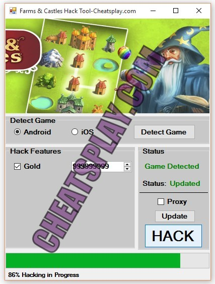 Farms and Castles Hack Tool