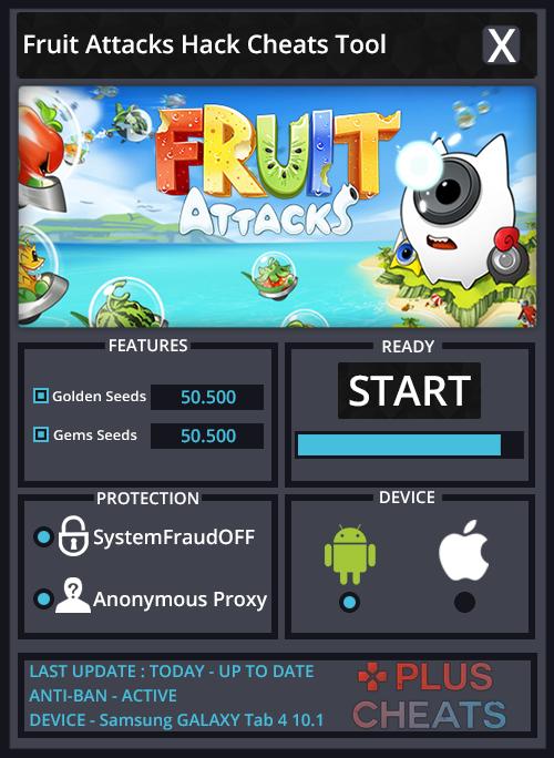 Fruit Attacks hack